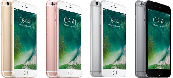 Apple iPhone 6s Plus günstig mit Blau Tarif - Bundle ab 37,99 € mtl.*