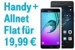 Blau Bundles 3 GB Allnet Flat mit Smartphone nur 19,99 € monatlich