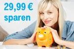 Blau Handyvertrag exklusiv online 0 statt 29,99 € Anschlusspreis