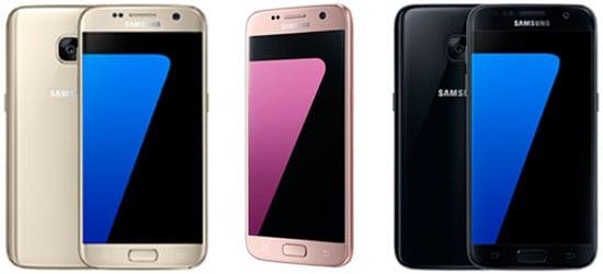 Samsung Galaxy S7 günstig mit Blau Handyvertrag (z.B. Blau Allnet)