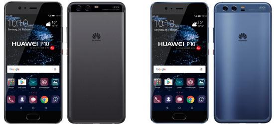 Huawei P10 günstig mit Blau Vertrag