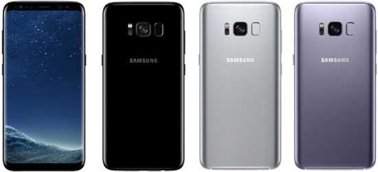 Samsung Galaxy S8 günstig mit Blau Vertrag