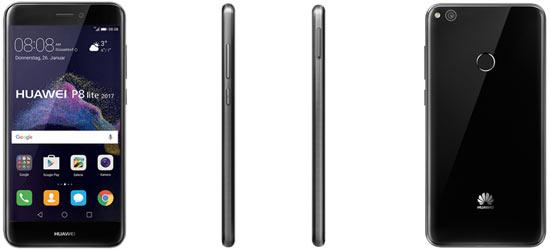 Huawei P8 Lite (2017) mit Blau Vertrag