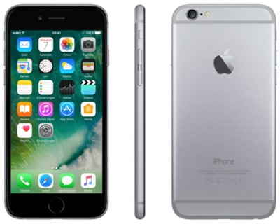 Apple iPhone 6 bei Blau