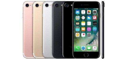 Apple iPhone 7 günstig mit Blau Vertrag - Bundle