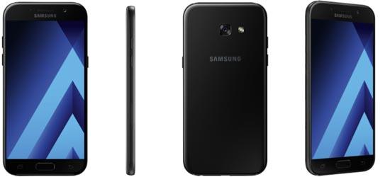 Samsung Galaxy A5 (2017) mit Blau Allnet