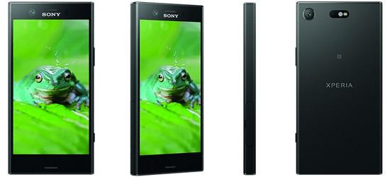 Sony Xperia XZ1 Compact mit Blau Vertrag – Bundle