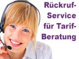 Blau Rückruf-Service - Tarifberatung