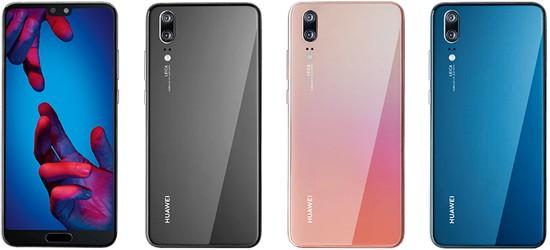 Huawei P20 günstig mit Blau Vertrag - Bundle ab