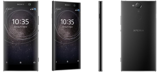 Sony Xperia XA2 günstig mit Blau Vertrag - Bundle