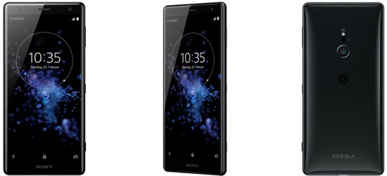 Sony Xperia XZ2 günstig mit Blau Vertrag - Bundle