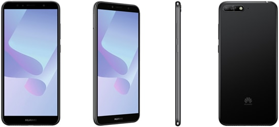 Huawei Y6 (2018) günstig mit Blau Vertrag - Bundle