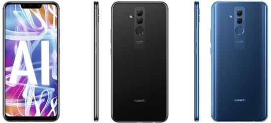 Huawei Mate 20 Lite günstig mit Blau Vertrag