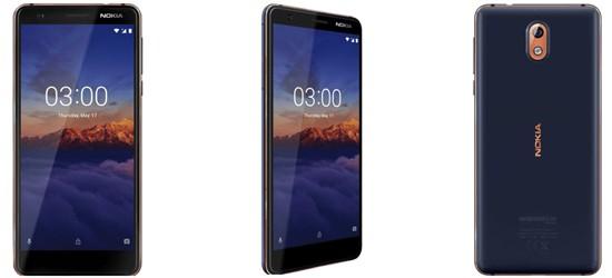 Nokia 3.1 günstig mit Blau Vertrag