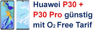 Huawei P30 bei o2