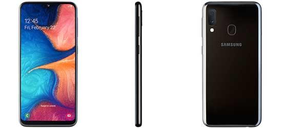 Samsung Galaxy A20e mit Blau.de Vertrag – Bundle