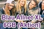 Blau Allnet XL mit 6GB LTE
