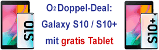 o2 Doppel-Deal mit gratis Tablet