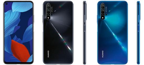 Huawei nova 5T günstig mit Blau.de Vertrag – Bundle