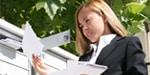 Blau Bestellformulare / Flyer per Post oder E-Mail zusenden lassen