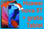 DEAL: Huawei nova 5T + gratis Tablet mit Blau 3GB