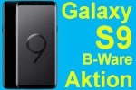 DEAL: Samsung Galaxy S9 (B-Ware) mit Blau Allnet 3GB