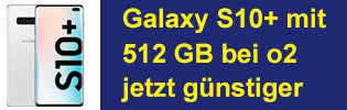 Samsung Galaxy S10 Plus bei o2