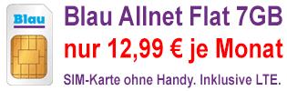 Blau Allnet XL Aktion