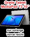 Huawei MediaPad T3 10 Zoll gratis zum P30 bei Blau.de