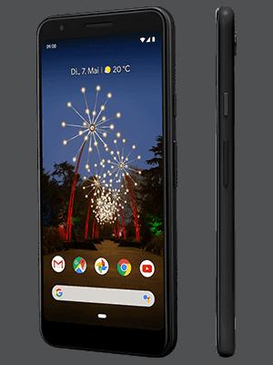 Blau.de - Google Pixel 3a - schwarz (seitlich)