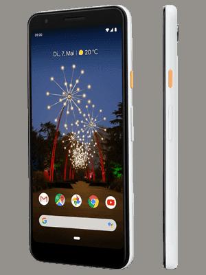 Blau.de - Google Pixel 3a - weiss (seitlich)