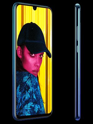Blau.de - Huawei P Smart 2019 - blau (seitlich)