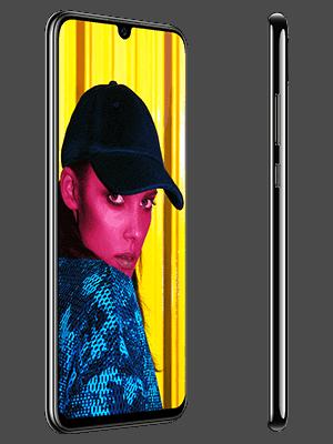 Blau.de - Huawei P Smart 2019 - schwarz (seitlich)