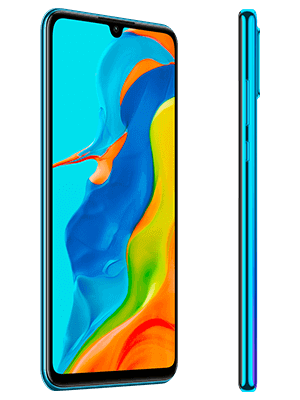 Blau.de - Huawei P30 lite New Edition - blau (seitlich)