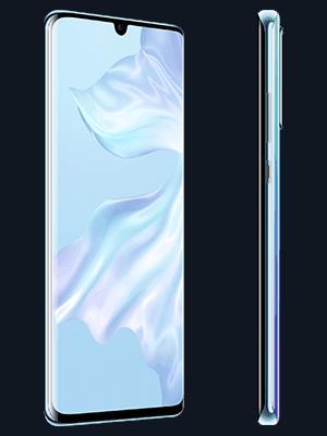 Blau.de - Huawei P30 Pro - weiß (seitlich)