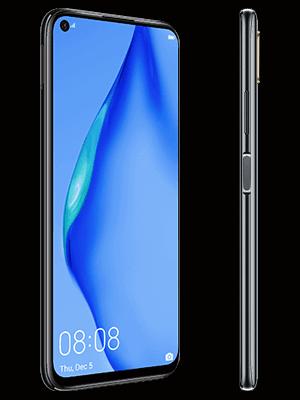Blau.de - Huawei P40 lite - schwarz (seitlich)