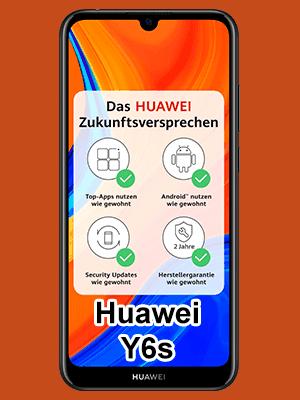 Blau.de - Huawei Y6s mit Vertrag
