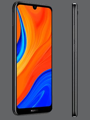 Blau.de - Huawei Y6s - schwarz (seitlich)