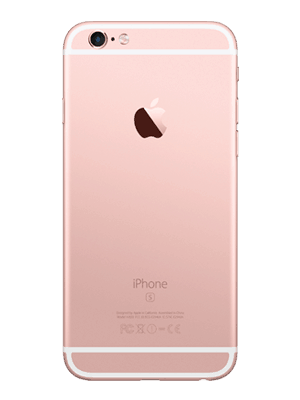 Blau.de - Apple iPhone 6s - rosegold (hinten)