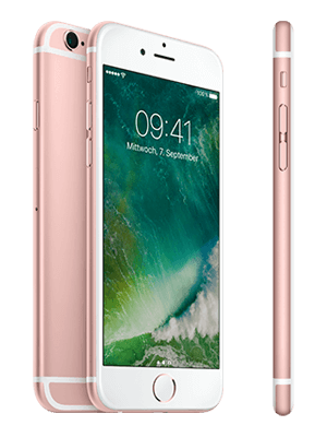 Blau.de - Apple iPhone 6s - rosegold (seitlich)