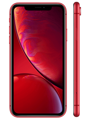 Blau.de - Apple iPhone XR - red / rot (vorn / seitlich)