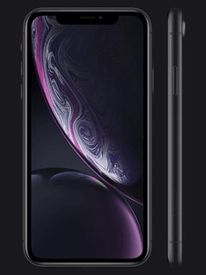 Blau.de - Apple iPhone XR - schwarz (vorn / seitlich)