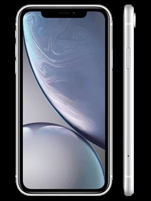Blau.de - Apple iPhone XR - weiß (vorn / seitlich)
