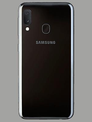 Blau.de - Samsung Galaxy A20e - schwarz (hinten)