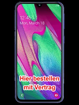 Blau.de - Samsung Galaxy A40 bestellen
