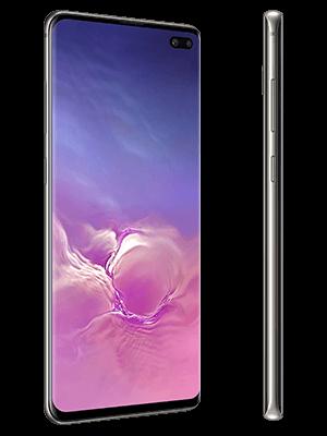 Blau.de - Samsung Galaxy S10+ in schwarz (seitlich)