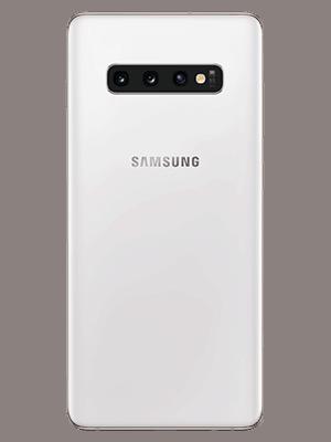Blau.de - Samsung Galaxy S10+ in weiß (hinten)