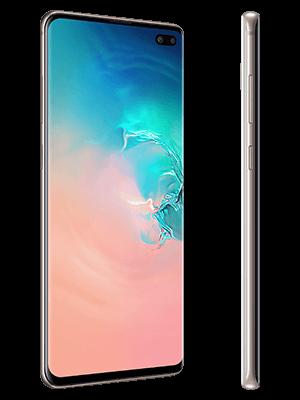 Blau.de - Samsung Galaxy S10+ in weiß (seitlich)