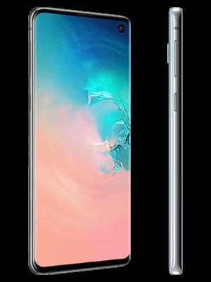 Blau.de - Samsung Galaxy S10 - silber (seitlich)