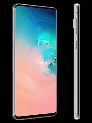 Blau.de - Samsung Galaxy S10 - weiß (seitlich)
